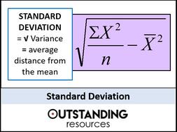 Variance and Standard Deviation (+ 2 Worksheets)