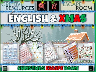 English Christmas 2020 Escape Room