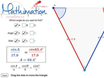 Sine Rule Visualisation