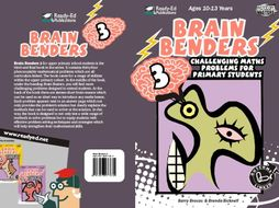 Brain Benders 3 US: Challenging Math Problem Solving Activities for 10-13 Years