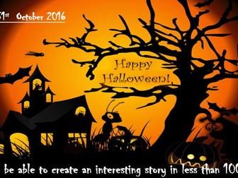 Halloween creative writing PowerPoint