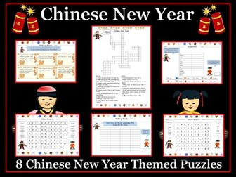 Chinese New Year Puzzle Pack