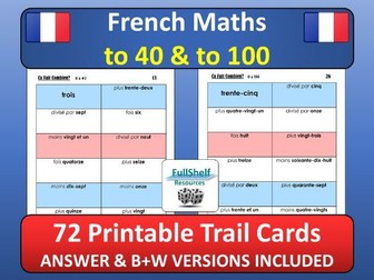 French Numbers / Maths
