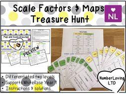 Using Scales White Rose Year 9 Treasure Hunt