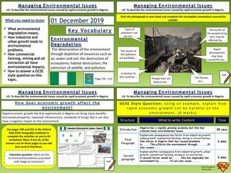 Nigeria: Managing Environmental Issues