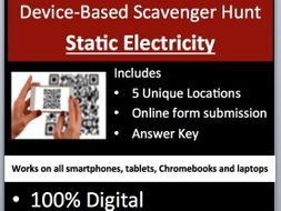 Static Electricity - Device-Based Scavenger Hunt Activity - Let the Hunt begin!