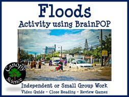 Floods Activity using BrainPOP