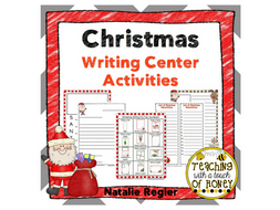 Christmas Writing Center Activities