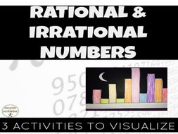 Rational Irrational Numbers - 3 kinesthetic activities