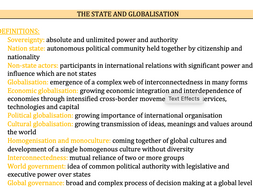 Global Politics - Edexcel Politics A-Level 9PL0