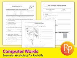 Computer Words: Essential Vocabulary