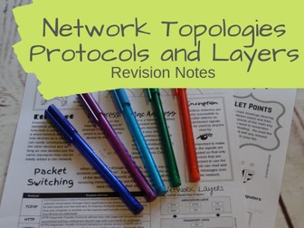 Network Topologies Protocols and Layers Revision