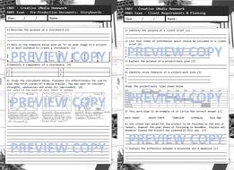 iMedia R081 Exam Homework Tasks