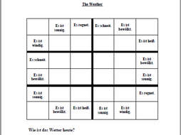 Easy Word Sudoku about the Weather