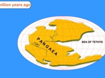 A level; plate tectonics and tectonic landforms