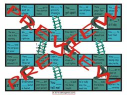 Modals of Obligation, Necessity and Prohibition Chutes and Ladders Board Game