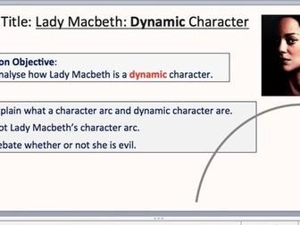 Macbeth-Lady Macbeth Dynamic Character