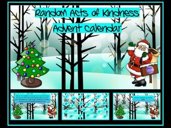 Random Acts of Kindness Christmas Advent Calendar