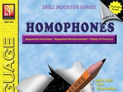Homophones: Skill Booster Series