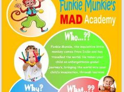 Funkie Munkie's MAD Academy - Curriculum, After School and Wraparound Care Provision for KS1&2