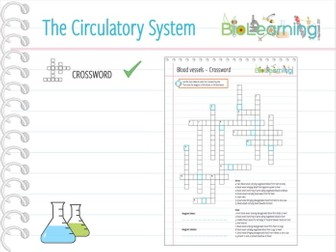 The Circulatory system - Crossword puzzle