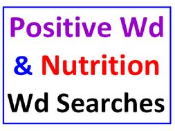 positive words word search puzzle plus nutrition word search 2