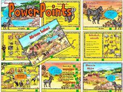 African Safari – PowerPoints KS1 & 2