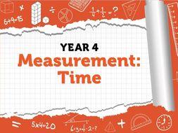 Year 4 Measurement: Time – White Rose Summer Block 3 Week 5