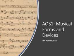 AOS1: The Romantic Era - Eduqas