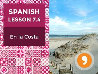 Spanish Lesson 7.4: En la Costa – On the Coast