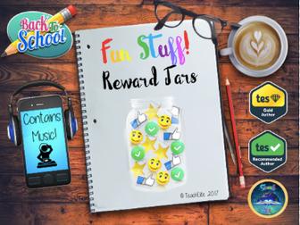 Back to school Reward Jars