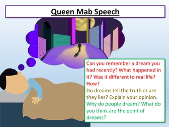Romeo and Juliet Queen Mab Speech