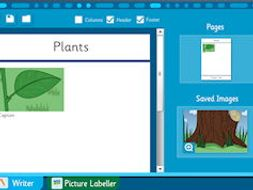Plants and Trees - Make Your Own Information Book