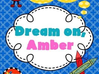Dream On, Amber Novel Study