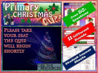 Primary Christmas Quiz KS1 KS2