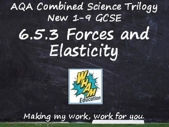 AQA Combined Science Trilogy: 6.5.3 Forces and Elasticity