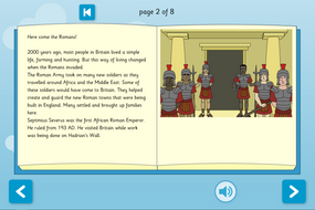 Black History in Britain Interactive Information Book - Reading Level A - KS2