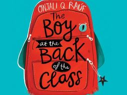 32 lessons - 'The Boy at the Back of the Class' by Onjali Rauf - Year 4/5/6 - English planning