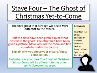 A Christmas Carol Stave 4