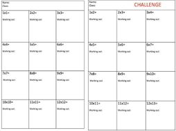 simple multiplication worksheets by mrwt  teaching resources  tes simple multiplication worksheets