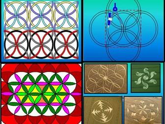 Compass patterns