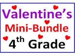 Valentine's Day 4th Grade Mini-Bundle