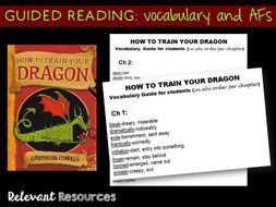 How to train your dragon guided reading by kellikellikelli other ccuart