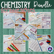 AS/A level Chemistry Scribble Notes Bundle