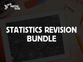 Statistics and Probability Revision Bundle