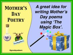 Mother's Day Poetry Lesson - The Magic Box