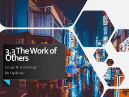 AQA GCSE (9-1) DT 3.3 The Work of Others - Apple & Dyson