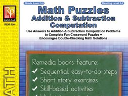 Math Puzzles: Addition & Subtraction Computation