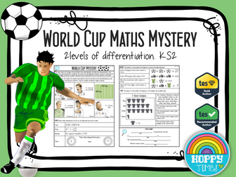 Football /WORLD CUP Maths Murder Mystery