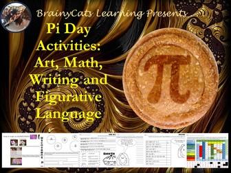 Pi Day 2017: No-Prep Art, Math, Figurative Language and Writing Activities